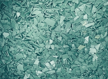 Осколки шоколадные голубые 100 гр