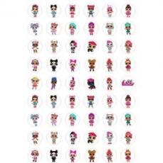 Бумага для меренги Куклы ЛОЛ