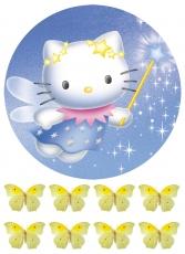 Вафельная картинка A4 Hello Kitty 1