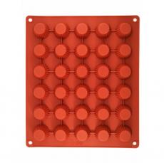 Силиконовая форма для выпечки мини-маффинов 3.5х1.5 см
