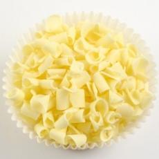 Декор-завитки с белого бельгийского шоколада 100 гр