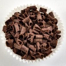 Декор-завитки с черного бельгийского шоколада 100 гр