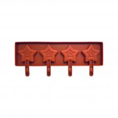 Форма силиконовая для кейк-попсов Звёзды