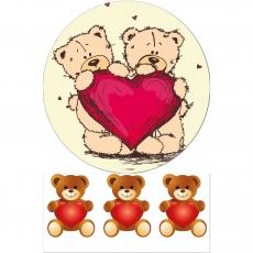 Вафельная картинка A4 День святого Валентина №37