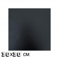 Подложка квадратная ДВП 3 мм 30x30 см чёрная