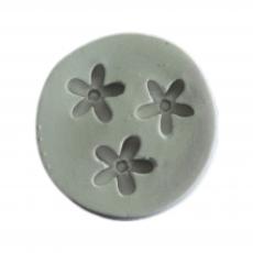 Силиконовый молд Набор цветочков 4.5x4.5 см