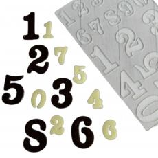 Трафареты для шоколада Цифры
