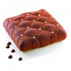 Силиконовая форма для десертов Подушка Matelasse 17х17 см
