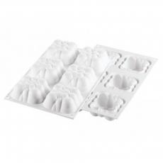 Силиконовая форма для евро-десертов Мини облака 3D 35х19х6 см
