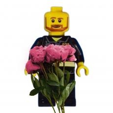 Силиконовый молд Лего человечек
