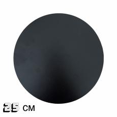 Подложка круглая ДВП 3 мм 25 см черная