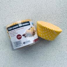 Набор тарталеток Желтый горох 100 шт 12 см