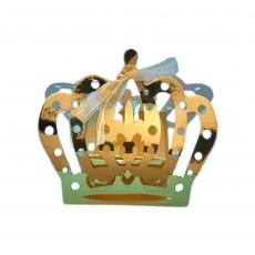Бонбоньерка Корона золотая 100х55х90 мм 5 шт