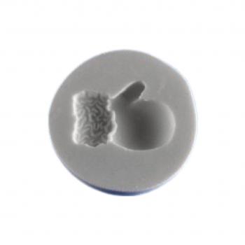 Силиконовый молд варешка деда Мороза