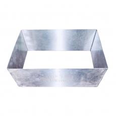Форма металлическая прямоугольник 24х15 см h=10 см