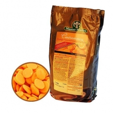 Белый шоколад апельсиновый 250 гр Италия развес