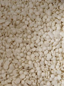 Термостабильные шоколадные капли белые 100 гр
