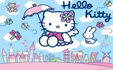 Вафельная картинка A4 Hello Kitty 2
