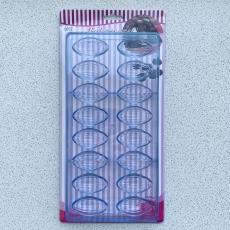 Форма для конфет Эллипс 27.5x13.5x2.4 см