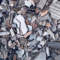Декорелла (термостойкие осколки из чёрного шоколада) 100 гр Италия развес