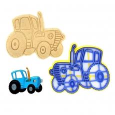 Вырубка для пряников Трактор (12 х 10 см)