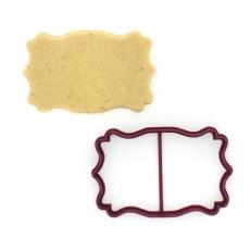 Вырубка для пряников Рамка (10 х 6 см)