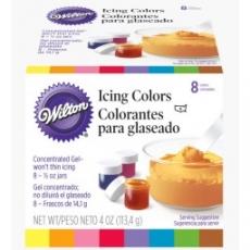 Набор гелевых красок Wilton 8 цветов