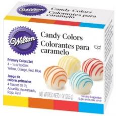 Набор красок для шоколада Wilton 4 цвета