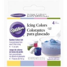 Набор гелевых красок Wilton Garden Colors 4 цвета