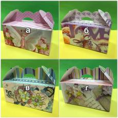 Коробка для кексов, печенья, зефира, конфет (г)