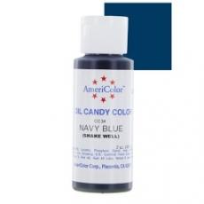 Краска для шоколада на масляной основе AMERICOLOR navy blue (темно-синий) 56.7 гр