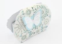 Бонбоньерка Ажурная бабочка