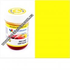 Гелевая краска Food Colours Желтая 35 гр