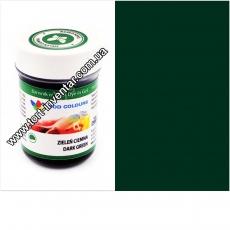 Гелевая краска Food Colours Темно-зеленая 35 гр
