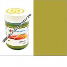 Гелевая краска Food Colours Оливка 35 гр