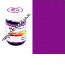 Гелевая краска Food Colours Яркий фиолетовый 35 гр