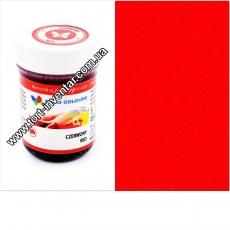 Гелевая краска Food Colours Красная 35 гр