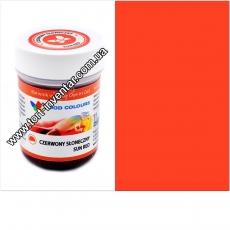 Гелевая краска Food Colours Солнечно-красный 35 гр