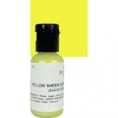 Сверкающий краситель AmeriColor Жёлтый 18.4 гр