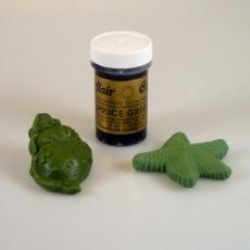 Гель-паста Sugarflair Зелёный мох 25 гр