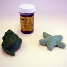 Гель-паста Sugarflair Темно-зелёная 25 гр