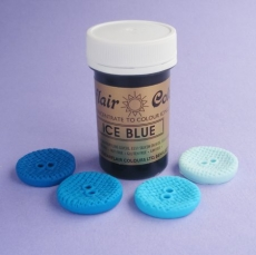 Гель-паста Sugarflair Ярко-голубая 25 гр