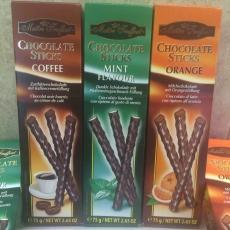 Шоколадные палочки Maitre Truffout (75 гр, Франция)