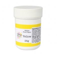 Краска для рисования матовая Colour Splash Жёлтая 25гр