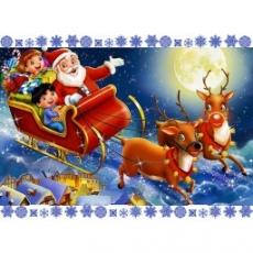 Вафельная картинка A4 Новый год, Рождество 8