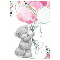 Вафельная картинка A4 Мишка Тедди 3