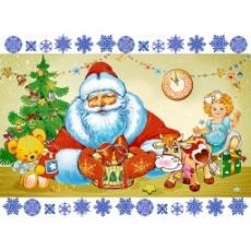 Вафельная картинка A4 Новый год, Рождество 7