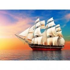 Вафельная картинка A4 Яхта 1