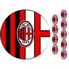 Вафельная картинка A4 Милан
