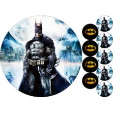 Вафельная картинка A4 Бэтмен